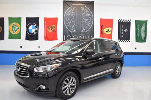 2013 Infiniti JX35 for sale at Iconic Auto Exchange in Concord NC