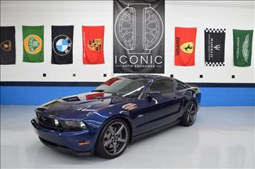 2012 Ford Mustang for sale at Iconic Auto Exchange in Concord NC