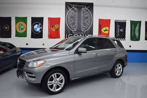 2012 Mercedes-Benz M-Class for sale at Iconic Auto Exchange in Concord NC