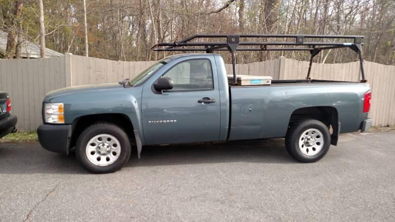 2011 Chevrolet Silverado 1500 4x2 Work Truck 2dr Regular Cab 8 ft. LB - Ashland MA