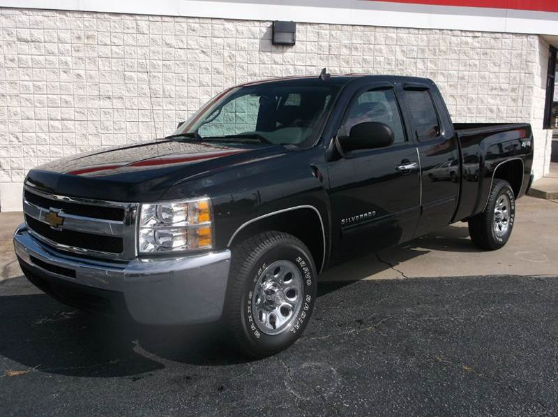 2012 Chevrolet Silverado 1500 for sale at Cannon Auto Sales in Newberry SC