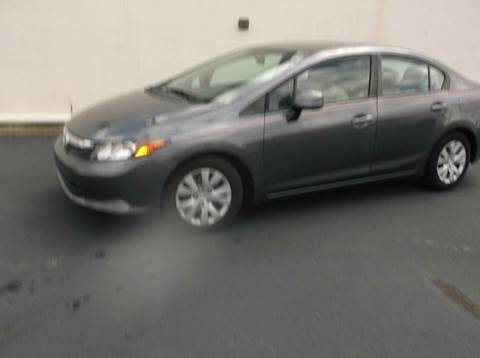 2012 Honda Civic for sale at Cannon and Graves Auto Sales in Newberry SC