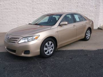 2010 Toyota Camry for sale at Cannon and Graves Auto Sales in Newberry SC