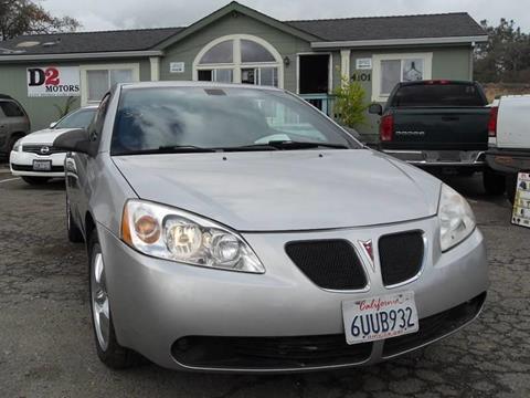 2007 Pontiac G6 for sale in Shingle Springs, CA