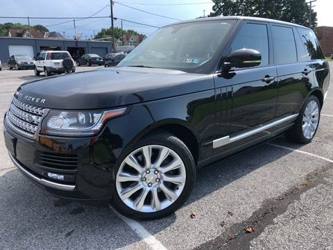 2015 Land Rover Range Rover for sale in Allentown, PA