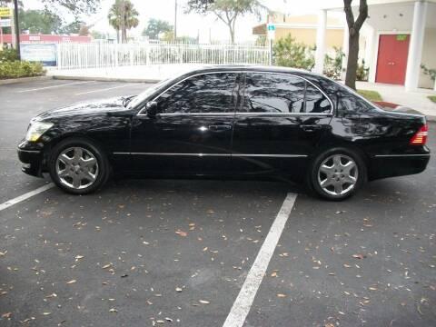 2004 Lexus LS 430 for sale at AUTO IMAGE PLUS in Tampa FL