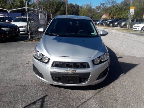2013 Chevrolet Sonic LT Auto for sale at AUTO IMAGE PLUS in Tampa FL