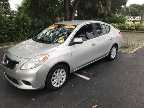 2012 Nissan Versa for sale at AUTO IMAGE PLUS in Tampa FL