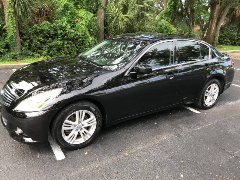 2012 Infiniti G25 Sedan for sale at AUTO IMAGE PLUS in Tampa FL