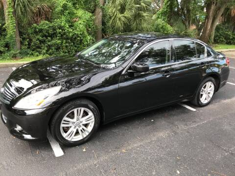 2012 Infiniti G25 Sedan for sale at AUTO IMAGE PLUS in Tampa FL