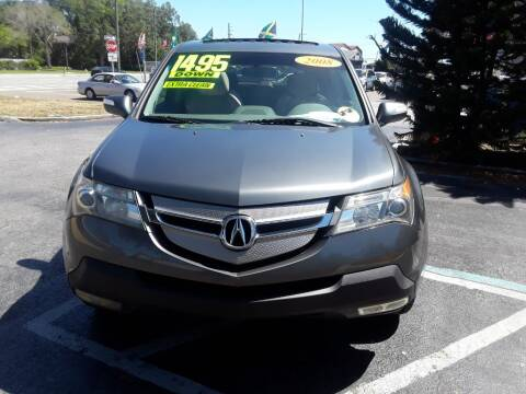 2008 Acura MDX for sale at AUTO IMAGE PLUS in Tampa FL