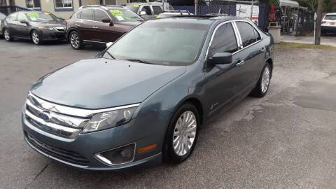2012 Ford Fusion Hybrid for sale at AUTO IMAGE PLUS in Tampa FL