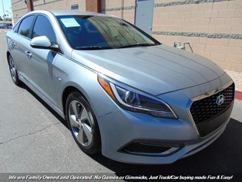 2016 Hyundai Sonata Hybrid for sale in Mesa, AZ