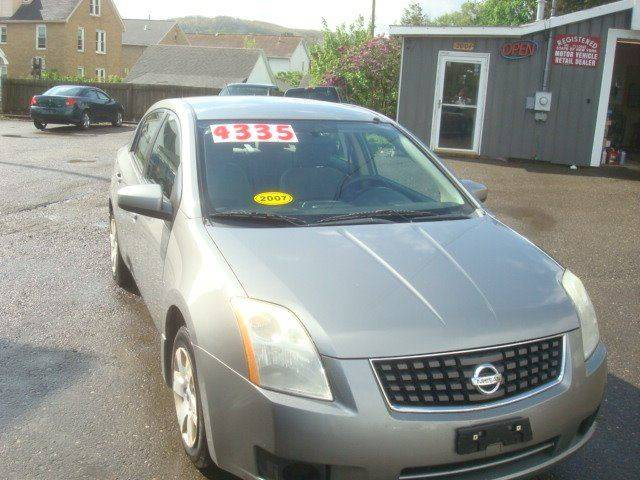 2007 Nissan Sentra for sale at TMS AUTO in Endicott NY
