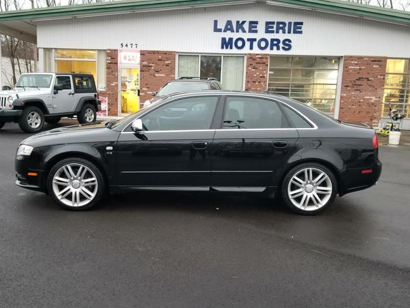 Audi S Quattro In Madison OH LAKE ERIE MOTORS INC - 2007 audi s4