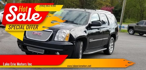 2012 GMC Yukon for sale in Madison, OH