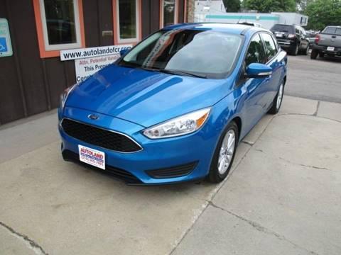 2016 Ford Focus for sale in Cedar Rapids, IA