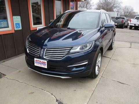 2015 Lincoln MKC for sale at Autoland in Cedar Rapids IA
