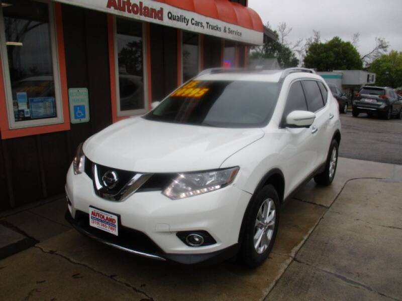 2015 Nissan Rogue for sale at Autoland in Cedar Rapids IA