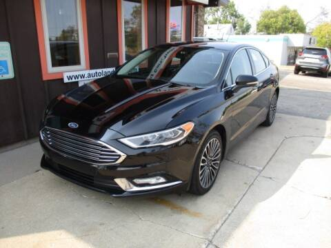 2017 Ford Fusion for sale at Autoland in Cedar Rapids IA