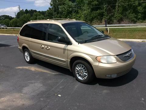 2001 Chrysler Town and Country for sale in Decatur, GA