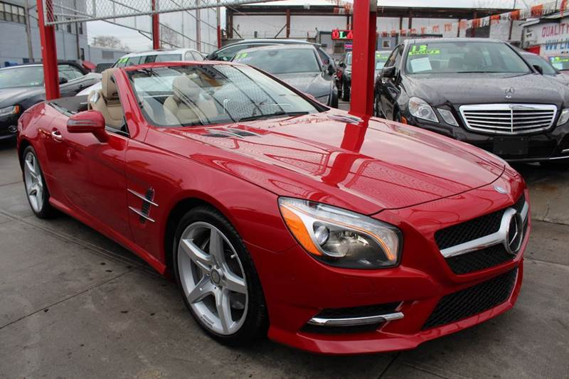 2014 Mercedes-Benz SL-Class for sale at LIBERTY AUTOLAND INC in Jamaica NY