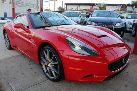 2010 Ferrari California for sale at LIBERTY AUTOLAND INC in Jamaica NY