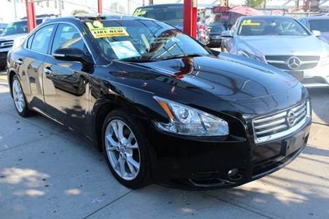 2014 Nissan Maxima for sale at LIBERTY AUTOLAND INC in Jamaica NY