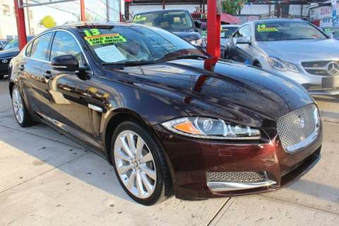 2013 Jaguar XF for sale at LIBERTY AUTOLAND INC in Jamaica NY
