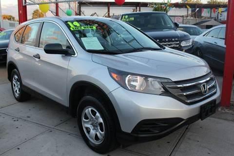 2014 Honda CR-V for sale at LIBERTY AUTOLAND INC in Jamaica NY