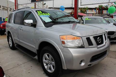 2011 Nissan Armada for sale at LIBERTY AUTOLAND INC in Jamaica NY