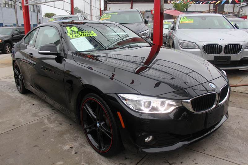 2014 BMW 4 Series for sale at LIBERTY AUTOLAND INC in Jamaica NY