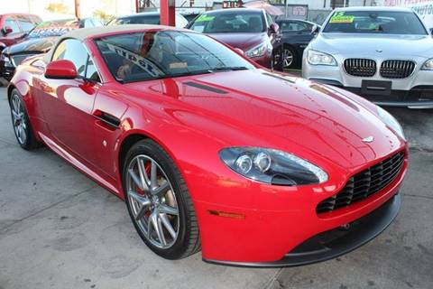 2014 Aston Martin V8 Vantage for sale at LIBERTY AUTOLAND INC in Jamaica NY