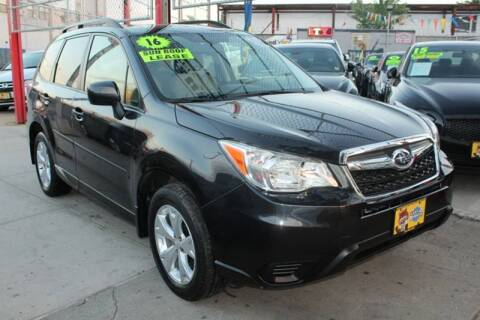 2016 Subaru Forester for sale at LIBERTY AUTOLAND INC in Jamaica NY
