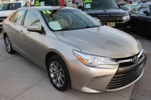 2016 Toyota Camry for sale at LIBERTY AUTOLAND INC in Jamaica NY
