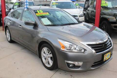 2015 Nissan Altima for sale at LIBERTY AUTOLAND INC in Jamaica NY