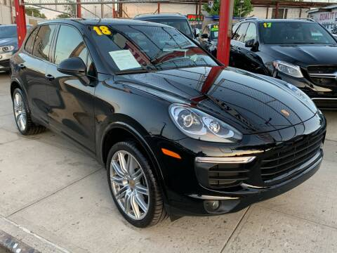 2018 Porsche Cayenne for sale at LIBERTY AUTOLAND INC in Jamaica NY