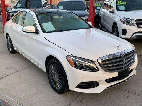 2015 Mercedes-Benz C-Class for sale at LIBERTY AUTOLAND INC in Jamaica NY