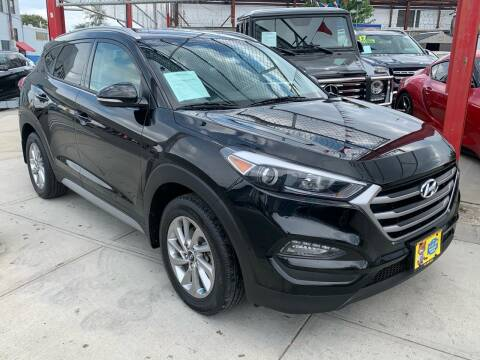 2017 Hyundai Tucson for sale at LIBERTY AUTOLAND INC in Jamaica NY