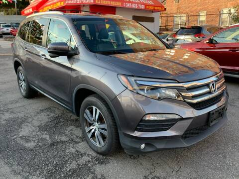 2017 Honda Pilot for sale at LIBERTY AUTOLAND INC in Jamaica NY