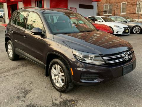 2016 Volkswagen Tiguan for sale at LIBERTY AUTOLAND INC in Jamaica NY