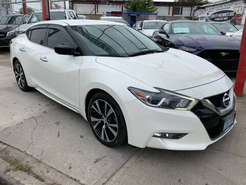 2017 Nissan Maxima for sale at LIBERTY AUTOLAND INC in Jamaica NY