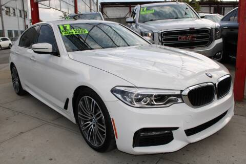 2017 BMW 5 Series for sale at LIBERTY AUTOLAND INC in Jamaica NY
