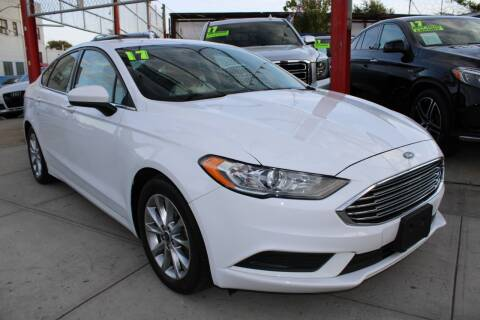 2017 Ford Fusion for sale at LIBERTY AUTOLAND INC in Jamaica NY