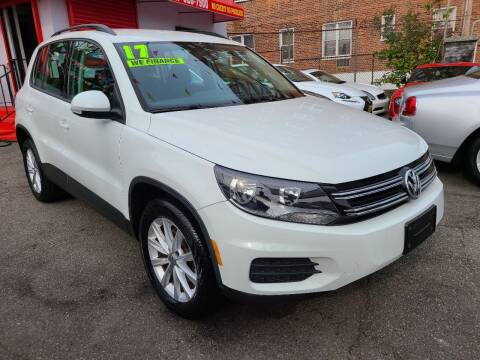2017 Volkswagen Tiguan for sale at LIBERTY AUTOLAND INC in Jamaica NY