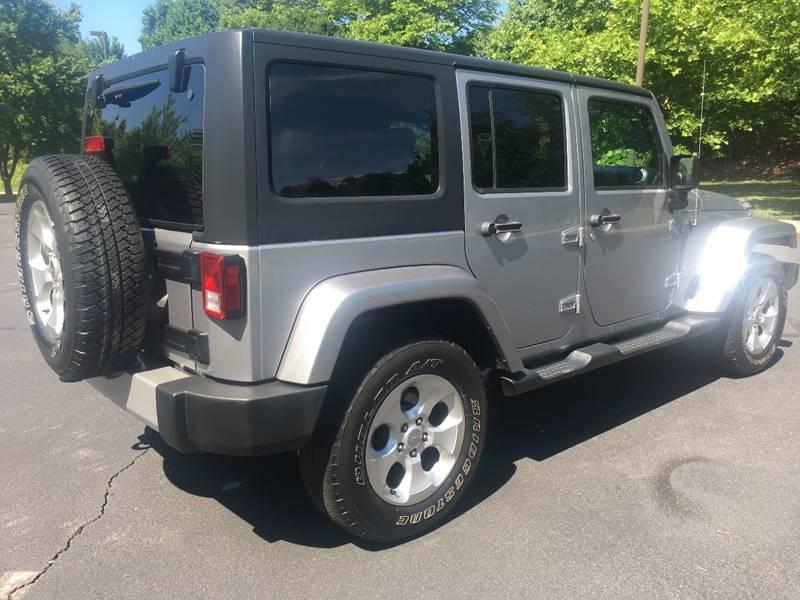 2013 Jeep Wrangler Unlimited 4x4 Sahara 4dr SUV - Charlottesville VA