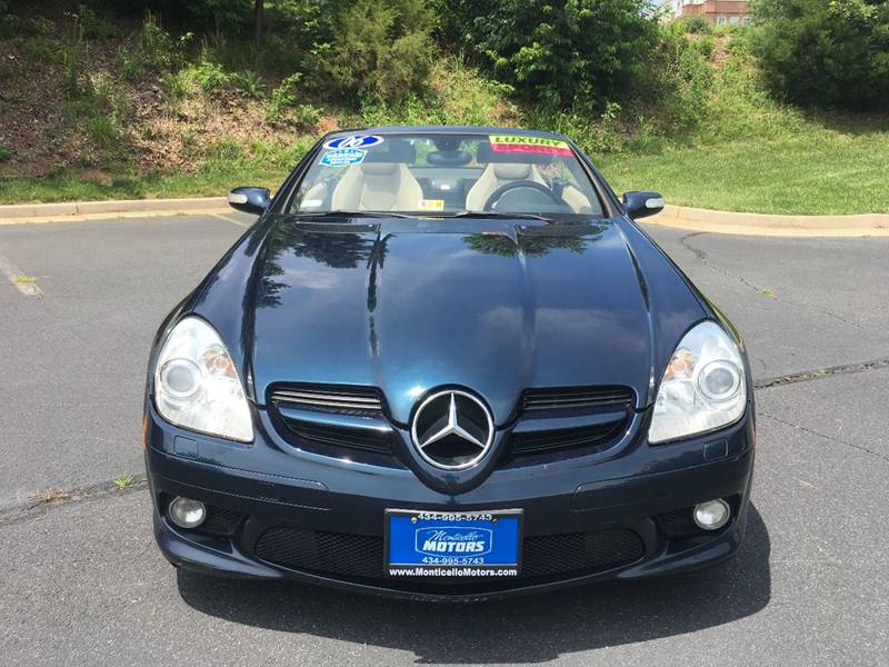 2006 Mercedes-Benz SLK SLK 280 2dr Convertible - Charlottesville VA