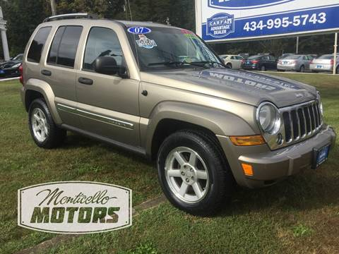 2007 Jeep Liberty for sale in Charlottesville, VA