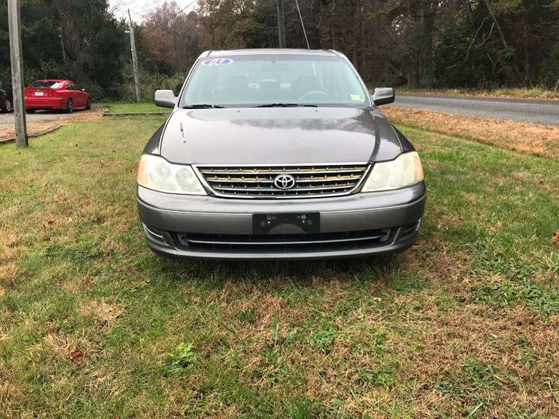 2003 Toyota Avalon Xl 4dr Sedan W Bucket Seats In