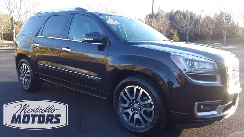 2013 GMC Acadia AWD Denali 4dr SUV - Charlottesville VA